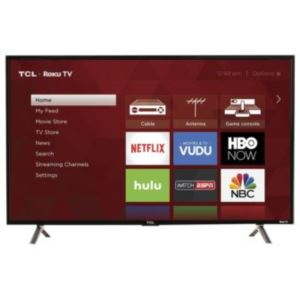 "49"" 4K LED TV With Roku"