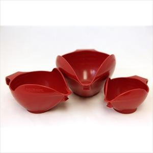 3PC BOWL SET, 6-8-12 CUP (EMPIRE RED)