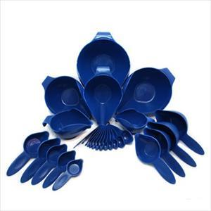 27PC BOWL & MEASURING SET (BLUE WILLOW)