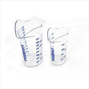 1 &amp; 2 CUP POLYCARBONATE BEAKER SET