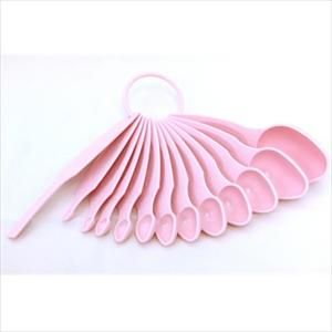MEASURING SPOON SET 12 PC (PINK)