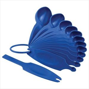 MEASURING SPOON SET 12 PC (BLUE WILLOW)