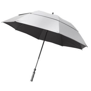 Bag Boy Telescoping UV Umbrella - Silver-