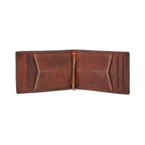 Mens Reese Money Clip - (Brown)