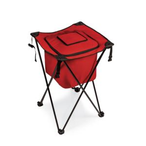 Sidekick Portable Standing Beverage Cooler Red