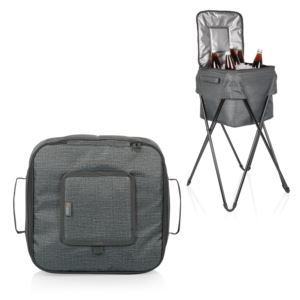Oniva Camping Party Cooler w/ Stand Heathered Gray