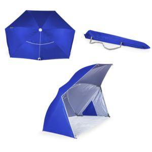 Oniva Brolly Beach Umbrella Tent Blue