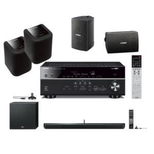 MusicCast + Alexa Home Bundle - AV Receiver Speakers and Soundbar