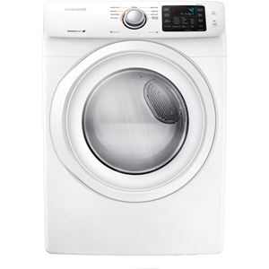 7.5 Cu. Ft. Front Load Electric Dryer - White