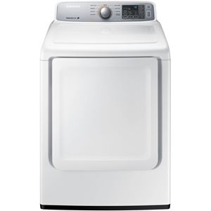 7.4 Cu. Ft. Electric Dryer - White
