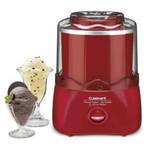 Frozen Yogurt, Ice Cream & Sorbet Maker - Red