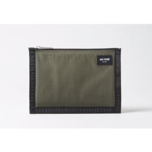 Solid Ripstop Cord Pouch - Green