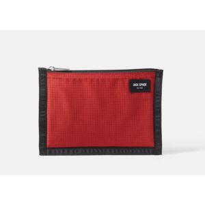 Solid Ripstop Cord Pouch - Red