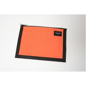 Solid Ripstop Cord Pouch - Orange