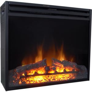 28-In. Freestanding 5116 BTU Electric Fireplace Insert with Remote Control