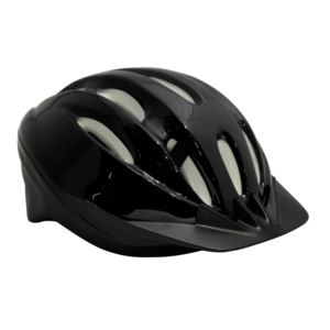 Youth ATB 1500 Bike Helmet Black - 54-56cm