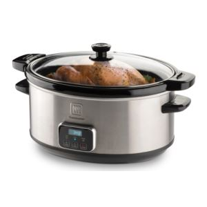 7qt Digital Slow Cooker w/ Removable Insert
