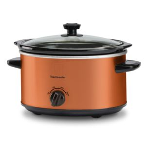4qt Slow Cooker w/ Removable Insert Copper