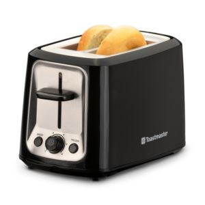 2-Slice Cool Touch Toaster Black