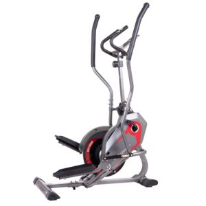 Body Power StepTrac Elliptical Stepper Workout Trainer w/ Curve-Crank