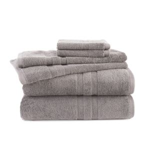 6 - Piece Towel Set - (Taupe)