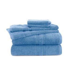 6 - Piece Towel Set - (Sky Blue)