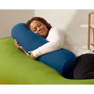 Buddy Roll Portable Body Pillow Blue