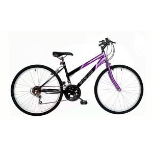 "26"" Ladies Wildcat"","" Purple/Black Mountain Bike"