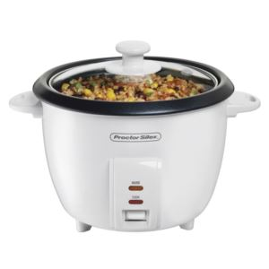 10 - Cup Rice Cooker with Glass Lid