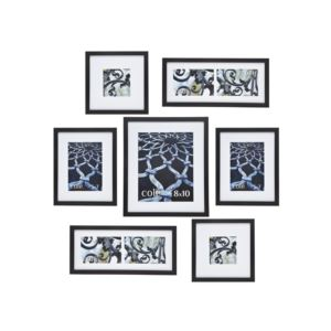 Coordinating Picture Frames - (Set of 7)