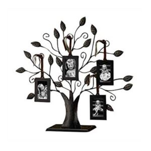 Tree of Life Multi-Size Picture Holder & 6 Frames