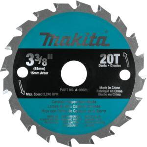 "3-3/8"" 20T Carbide-Tipped Circular Saw Blade"","" General Purpose"