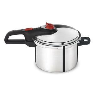 Secure 6 Qt. Pressure Cooker/ Aluminum w/SS Base