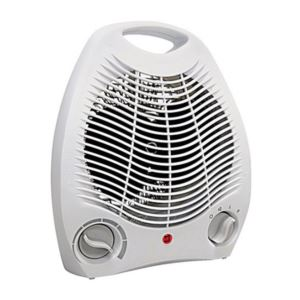 Electric Portable Heater Fan - (White)