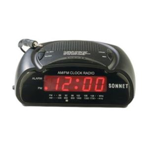Led Clock Radio W/Mp3
