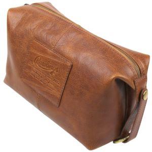 Rugged Leather Travel Kit