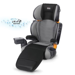 KidFit Zip Air 2-in-1 Boster Positioning Car Seat Q Collection