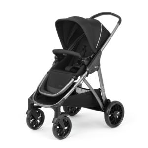 Corso Modular Quick-Fold Stroller Black
