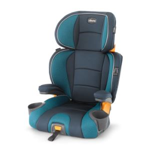 KidFit 2-in-1Belt Positioning Booster Seat Monaco
