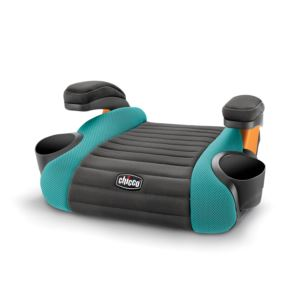 GoFit Backless Booster Car Seat Raindrop