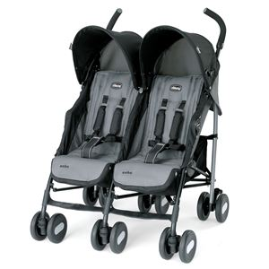 Echo Twin Stroller Coal