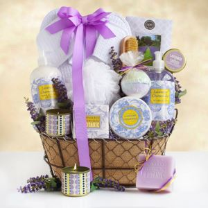 California Delicious Lavender Spa Getaway Gift