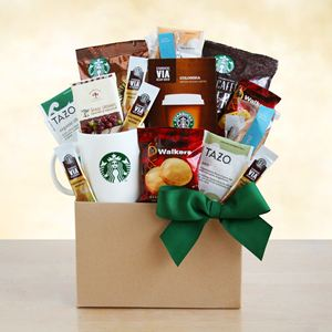 Give Thanks with Starbucks Gift Box