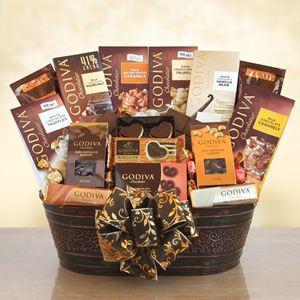 Majestic Godiva Gift Basket