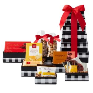 CA Delicious Holiday Elegance Gift Tower