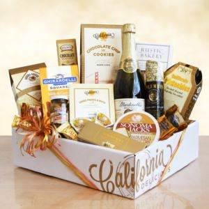 California Delicious Golden State Gourmet Gift Basket