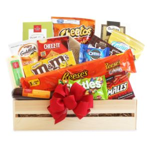 CA Delicious Snack Time Gift Basket