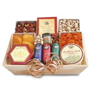 Meat & Cheese-Wooden Gift Crate-Better