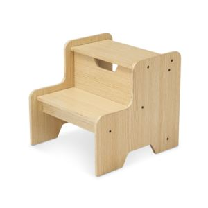 Wooden Step Stool Natural - Ages 3+ Years