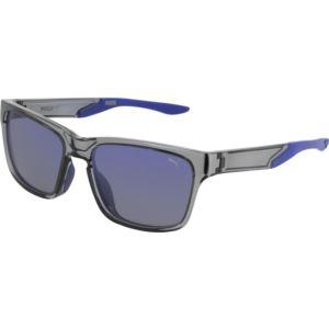 Men's Acetate Sunglass - Grey/Blue